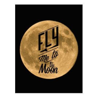 Pilotez-moi à la carte postale de lune