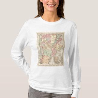 Piment, la république d'Argentine, le Paraguay, et T-shirt