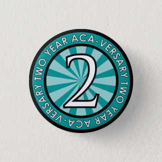 Pin ACA-Versary collectable de deux ans Badge