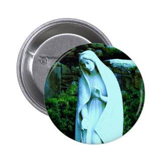 Pin bleu changé de Vierge Marie Pin's Avec Agrafe