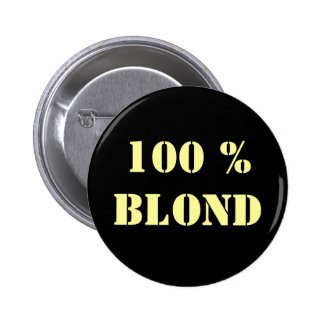 """Pin blond personnalisable de """"100%"""" pin's"""