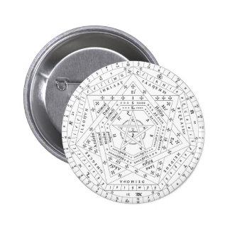 Pin complet blanc de Sigillum Dei Aemeth Pin's