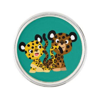 Pin coquet mignon de revers de jaguars de bande pin's