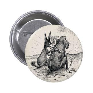 Pin d élection d éléphant d âne pin's