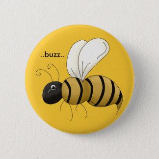 Pin d'abeille badge