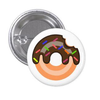 Pin de beignet de chocolat badge