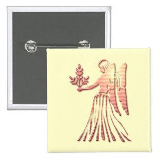 Pin de carré de zodiaque de Vierge Pin's
