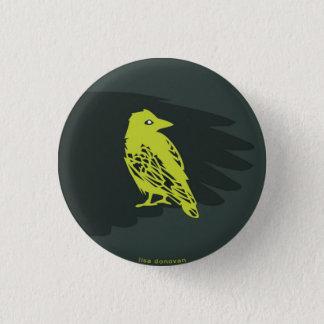 Pin de conception d'oiseau et d'aile badge
