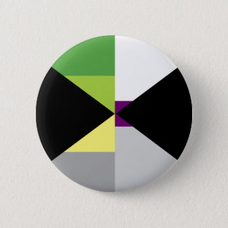 Pin de Demiromantic Demisexual Badge