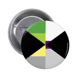 Pin de Demiromantic Demisexual Badge