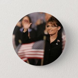 Pin de drapeau de Sarah Palin Badges