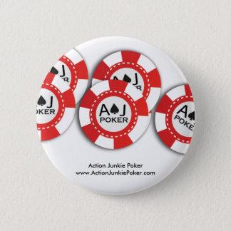 Pin de jeton de poker badge