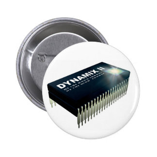 Pin de logo de puce de Dynamix II Badge