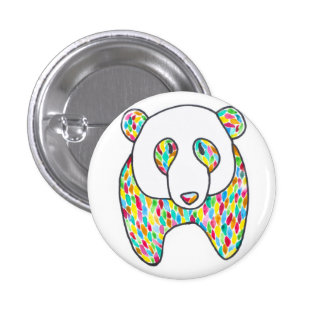 Pin de panda de confort par Megaflora Pin's Avec Agrafe