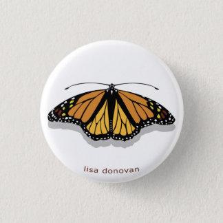 Pin de papillon de monarque badge
