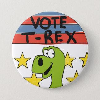 Pin de T-Rex de vote Badges