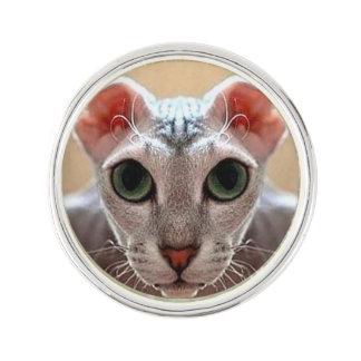 Pin de visage de chat de Levkoy d'Ukrainien Pin's