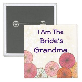Pin d'identificateur de nom de grand-maman de mari badges