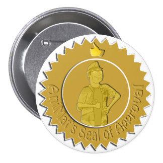Pin du label d'AniMat (grand) Badge