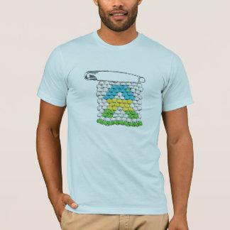 Pin du Rwanda de SIDA de VISAGE T-shirt