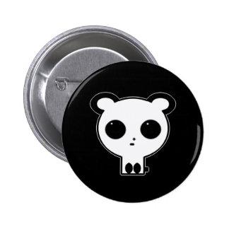 Pin gothique Kawaii de bouton de panda Badge Avec Épingle