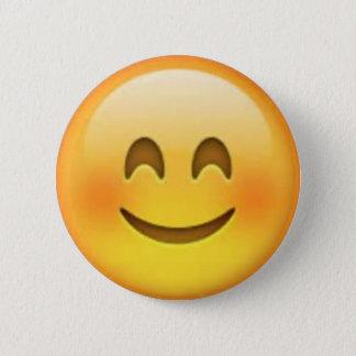 Pin heureux d'Emoji Badge