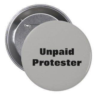 Pin impayé de protestataire badges