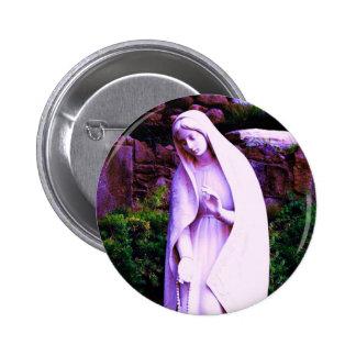 Pin pourpre changé de Vierge Marie Badge