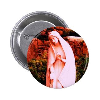 Pin rouge changé de Vierge Marie Badge Avec Épingle