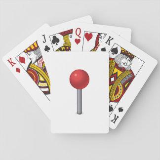 Pin rouge - Emoji Cartes À Jouer