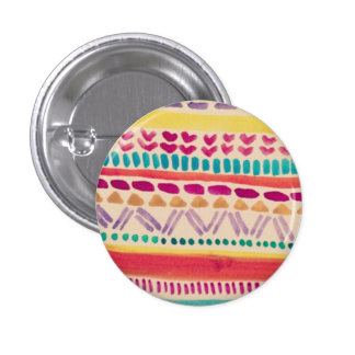 Pin tribal de motif par Megaflora Badge