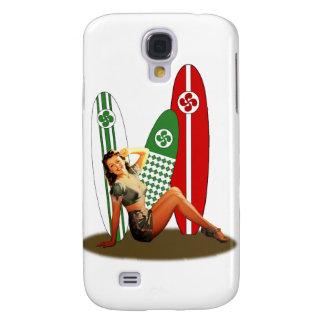 Pin-up Basque France Coque Galaxy S4
