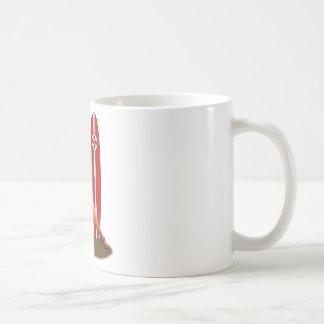Pin-up Basque France Mug Blanc