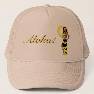 Pin-up de Wahine 1 casquette