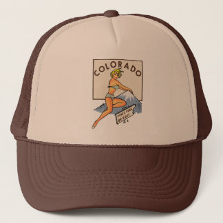 Pin-up du Colorado Casquette