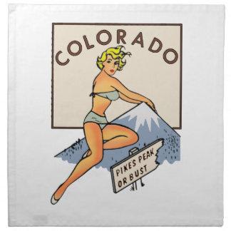 Pin-up du Colorado Serviettes De Table