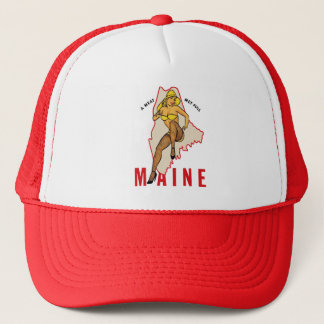 pin-up du Maine Casquette