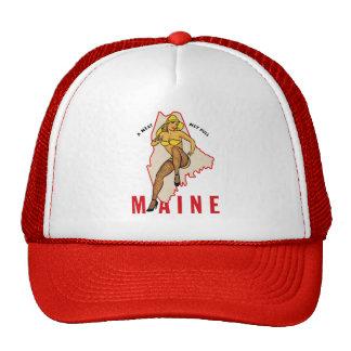 pin-up du Maine Casquettes De Camionneur
