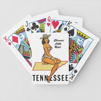 Pin-up du Tennessee Jeu De Cartes