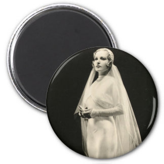 Pin-up vintage de vedette de film des années 1930 magnets pour réfrigérateur
