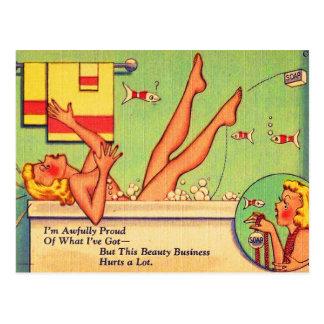 Pin vintage de kitsch vers le haut de carte