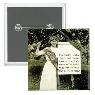 Pin vintage de suffragette pin's