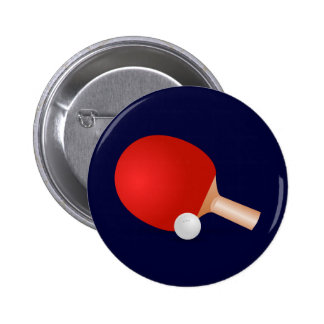 Ping-pong Badges Avec Agrafe