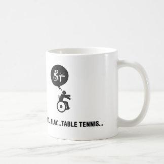 Ping-pong de fauteuil roulant mug