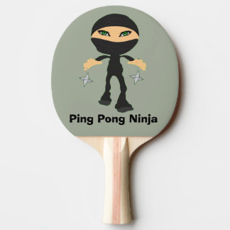 Ping-pong Ninja - fille Ninja Raquette De Ping Pong
