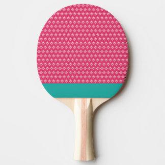 Ping-pong rose raquette de ping pong