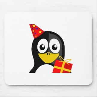 Pingouin d anniversaire tapis de souris