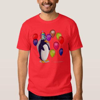 pingouin d'anniversaire t-shirts