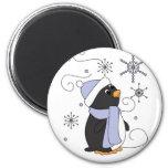 Pingouin dans la crainte aimants