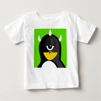 Pingouin de cyclopes t-shirt pour bébé